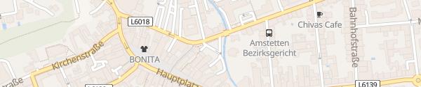 Karte Wüstenrotplatz Amstetten