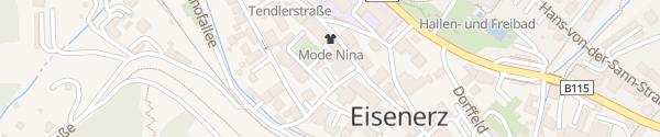 Karte Dr.-Theodor-Körner-Platz Eisenerz
