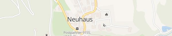 Karte Gemeindeamt Neuhaus