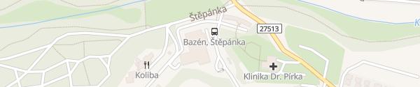 Karte Mestský basén Mladá Boleslav