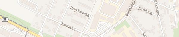 Karte Škoda Training Center Kosmonosy