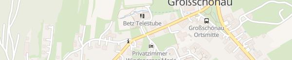 Karte BETZ - BioEnergetischesTrainingsZentrum Großschönau