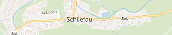 Karte Schliefauhof Schliefau