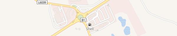 Karte Shell-Tankstelle St. Georgen am Ybbsfelde