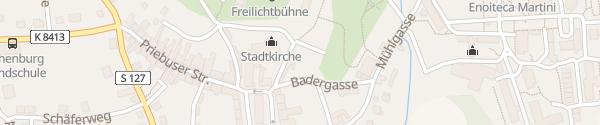 Karte Schlossplatz Rothenburg/Oberlausitz