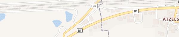 Karte Spar/BP St. Georgen am Ybbsfelde