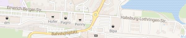 Karte BILLA Gmünd