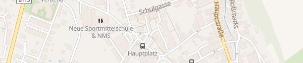 Karte Hauptplatz Trofaiach