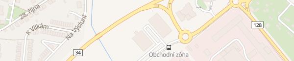 Karte Zahradní centrum Jindřichův Hradec