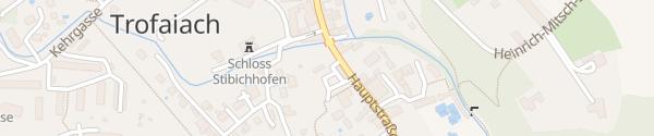 Karte Bus-Terminal Trofaiach