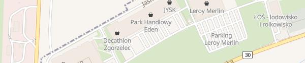 Karte Park Handlowy Eden Łagów