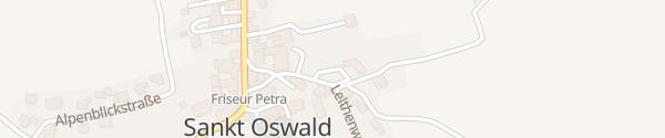 Karte Wirtschaftshof St. Oswald