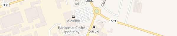 Karte Kaufland Nymburk