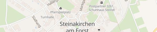 Karte Gemeindeamt Steinakirchen am Forst