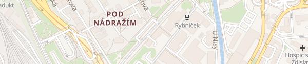 Karte Pytloun Grand Hotel Imperial Liberec