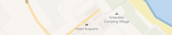 Karte Hotel Aloha Park Campomarino Lido