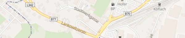 Karte Stadtwerke Köflach Köflach
