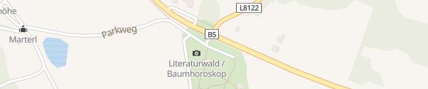 Karte Naturpark Heidenreichstein