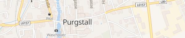 Karte Ortszentrum Purgstall an der Erlauf