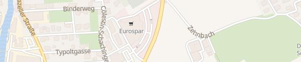 Karte Einkaufszentrum Ötscherland Purgstall