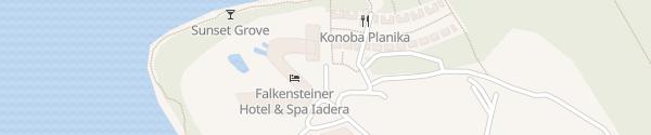 Karte Falkensteiner Hotel & Spa Iadera Petrcane