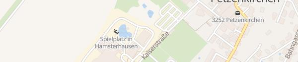 Karte Haubiversum Schnelllader Petzenkirchen