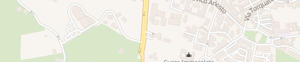 Karte Via Lazzaretto Acireale