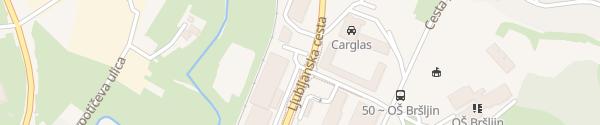 Karte BTC City Novo mesto