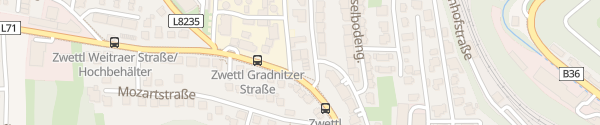 Karte eNu-Büro Zwettl