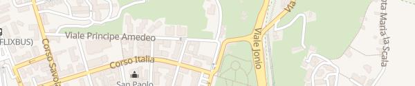 Karte Comando Carabinieri Acireale
