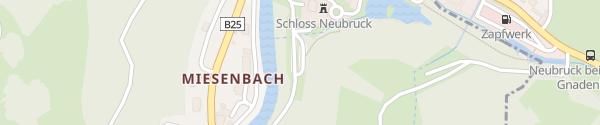 Karte Parkplatz Töpperschloss Neubruck Scheibbs