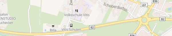 Karte Kindergarten Vitis