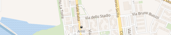 Karte Via Della Stadio Augusta