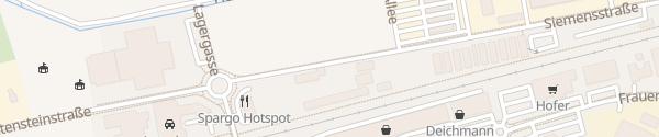 Karte Wirtschaftshof Deutschlandsberg