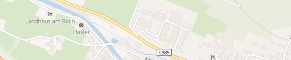 Karte Bauakademie Steiermark Übelbach