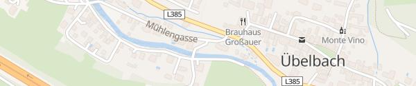 Karte Bachweg Übelbach