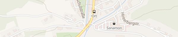 Karte Marktgemeindeamt Palbersdorf