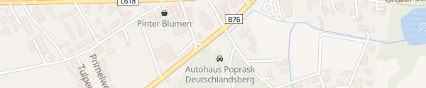Karte Autohaus Poprask Deutschlandsberg