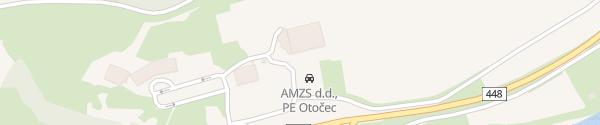Karte AMZS Otocec ob Krki