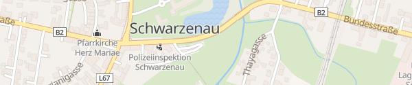 Karte Thayapark Schwarzenau