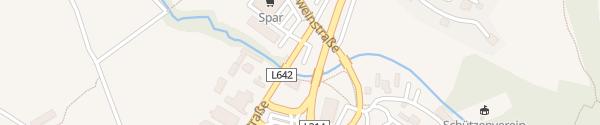 Karte Park&Ride Parkplatz Stainz