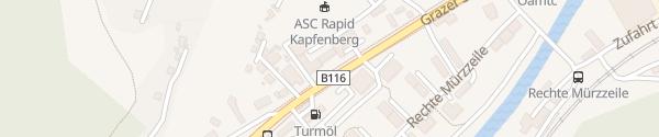 Karte Elektrotechnik Graff Kapfenberg