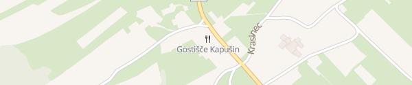 Karte Gostišče Kapušin Roman Kapušin Gradac