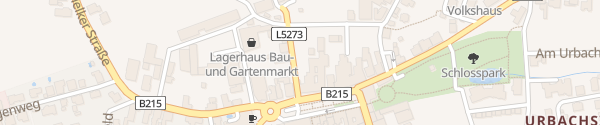 Karte Hauptplatz St. Leonhard am Forst
