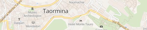 Karte Hotel Villa Schuler Taormina