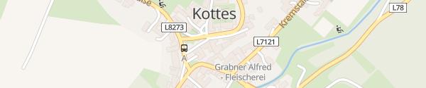 Karte Gasthof zur Kirche Kottes