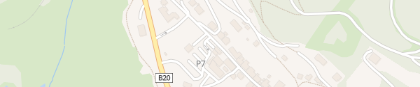 Karte Parkplatz P7 - Seilbahn Mariazell