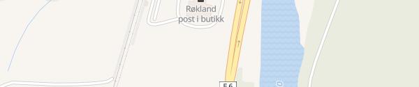 Karte Røkland Senter Røkland