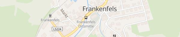 Karte Ortszentrum Frankenfels