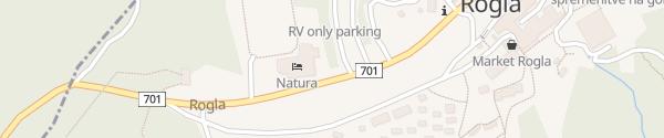 Karte Hotel Natura Zreče
